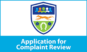 Application for Complaint Review 307x183