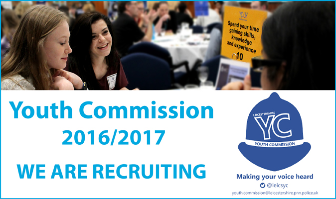 Youth Commission Recruitment